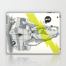 Camping Bear Laptop & iPad Skin