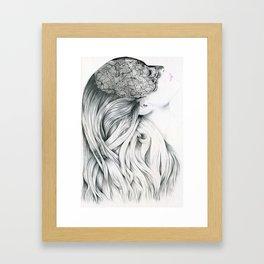 Lola - the intuitive lover Framed Art Print