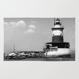 Robbins Reef Lighthouse Rug