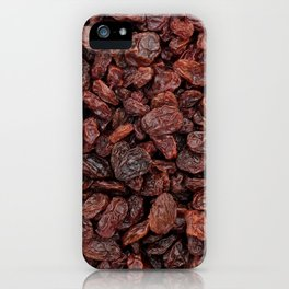 Tasty raisins iPhone Case