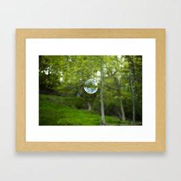 Summer Bubble Framed Art Print
