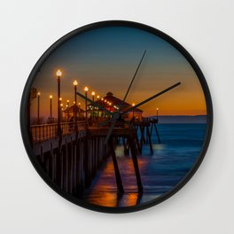 The Ghosts on the Pier Wall Clock