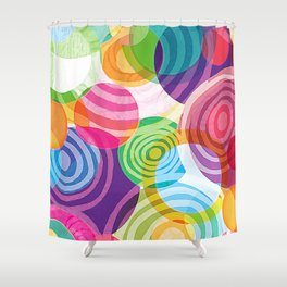 Circle-licious Sweetie Shower Curtain