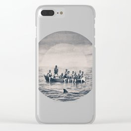 We are brave Clear iPhone Case