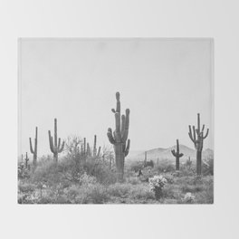 DESERT / Scottsdale, Arizona Throw Blanket
