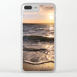 Stanley Park Sunset Clear iPhone Case