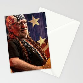 WILLIE NELSON TOUR DATES 2018 CICI11 Stationery Cards