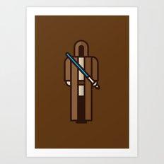 Jedi Art Print