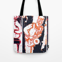 Jazzing it up          by Kay Lipton Tote Bag