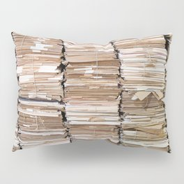 Pile of papers Pillow Sham
