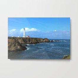 Point Arena Lighthouse Metal Print