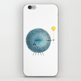 Poofy Poofus iPhone Skin