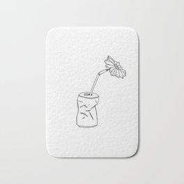 Canned Flower Bath Mat