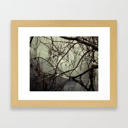 Icy Chill Framed Art Print
