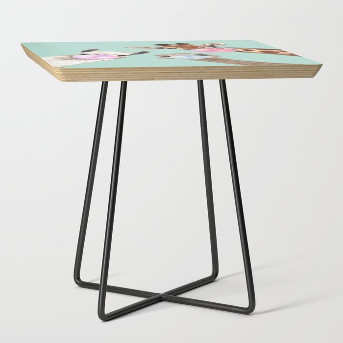 Bubble_Gum_Gang_in_Green_Side_Table_by_Big_Nose_Work__Black__Square