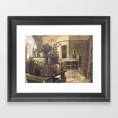 warble Framed Art Print