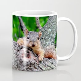 Squirrel with Knot Coffee Mug