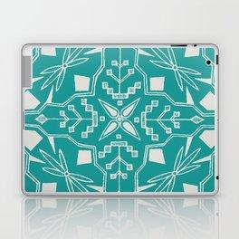 Turquoise Batik Laptop & iPad Skin