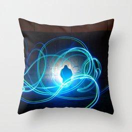 Woody W. Throw Pillow