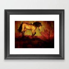 HORSE - Choctaw ridge Framed Art Print