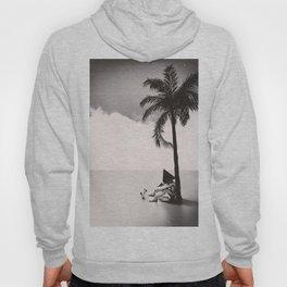 Palm Tree 18 BW Hoody