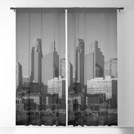 minneapolis minnesota skyline Blackout Curtain