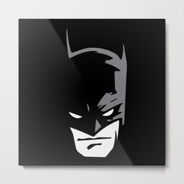 BatmanNoir Metal Print