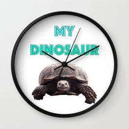 My Dinosaur Wall Clock