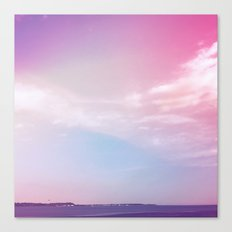 the sky + the sound Canvas Print
