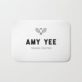 Amy Yee Tennis Center Bath Mat
