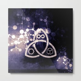 Raines Empire - Coalition Symbol Metal Print