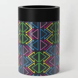 Geometric pattern Can Cooler