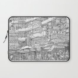 Hong Kong. Kowloon Walled City Laptop Sleeve