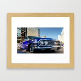 Slow and Low 60 Framed Art Print