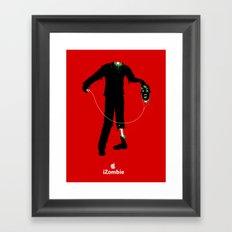 iZombie Framed Art Print