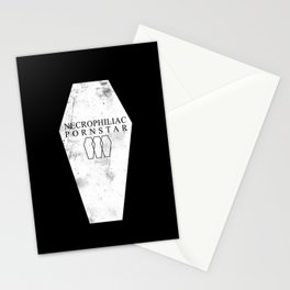 Necrophiliac Pornstar Stationery Cards