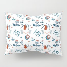Highland Reign - Pipes and Thistles Pillow Sham