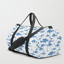 Blue fish. Duffle Bag