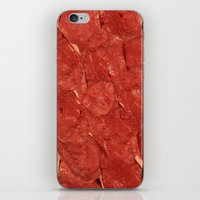 meat iPhone & iPod Skins featuring mEAT by Jevan Strudwick