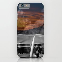 SUNSET SNARE iPhone Case