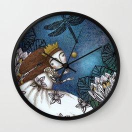 The Golden Ball Wall Clock