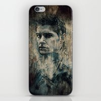 winchester iPhone & iPod Skins featuring Dean Winchester by Sirenphotos