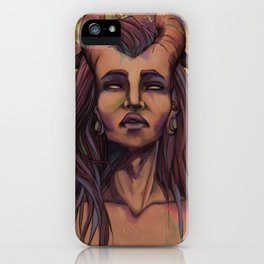 On the skin iPhone Case