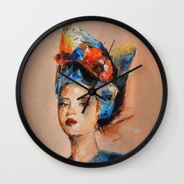 Ferrea assenza Wall Clock
