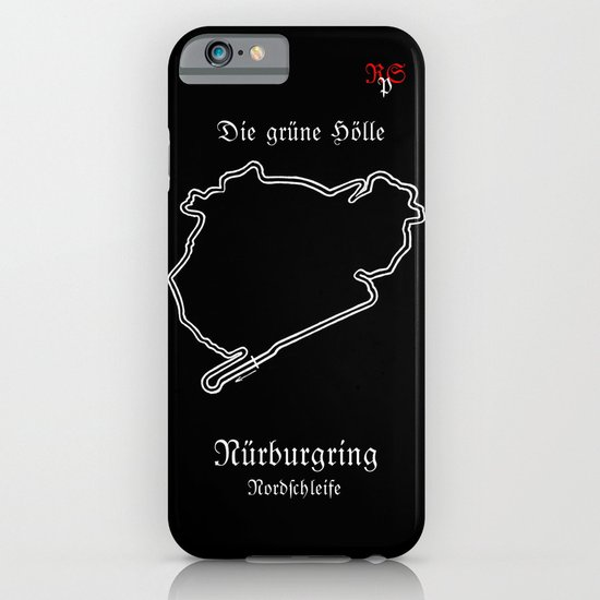 RennSport Shrine Series: Nürburgring Edition iPhone & iPod Case