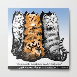 Good Names For Future Cats V.2 Metal Print