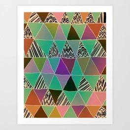 Triangle 3 Art Print