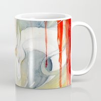 wasted rita Mugs featuring Wasted Dream by Rubis Firenos