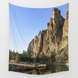 Cliffs Above Crooked River Wall Tapestry