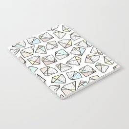 Polygonal stones and gemstones Notebook